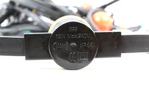 Guirlande guinguette 10 douilles B22 avec LED longueur 10m