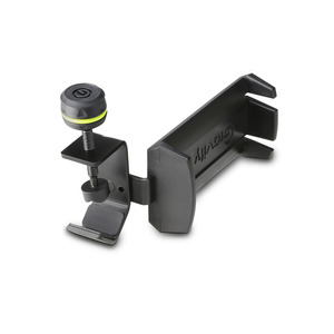 Support de casque gravity HPHMS 01 B avec fixation pied de micro