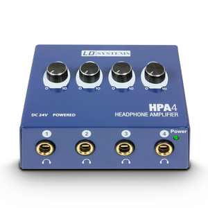 Préampli casque 4 sorties LD SYSTEMS HPA 4