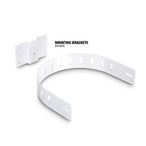 Paire d'enceintes d'installation LD SYSTEMS SAT 62 6,5'' blanche passive 130W