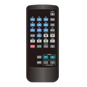 Lecteur mixage multimedia Power acoustic MEDMIX ONE MP3 CD Tuner télécommande