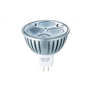 Lampe à led Rouge MR16 12v 3X1W