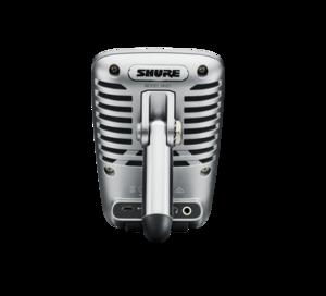 MV51-DIG Shure Micro statique USB Cardioïde sur table 24-bits 48 kHz pour podcast et prise de son