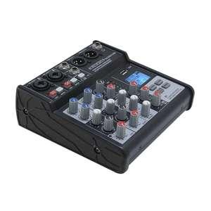 Mixage definitive audio MX4 USB 3 canaux lecteur enregistreur USB