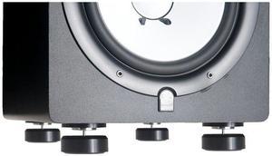 NEO-LEV Triton Audio lot de 4 Suspensions amortisseur sur aimant néodyme pour enceintes monitoring, hifi et platines