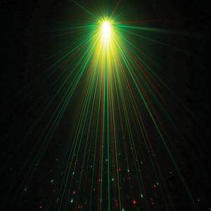 Projecteur multifonction Power lighting 9 leds 9w  laser et strobe