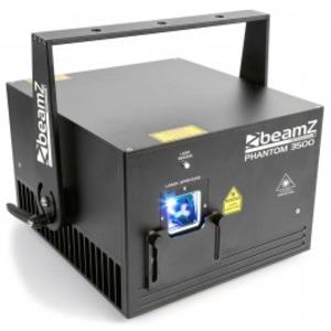 Laser BeamZ Phantom 3500 RGB ANALOGIQUE ILDA DMX