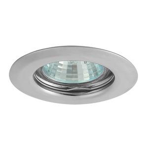 Plafonnier pour ampoule 35mm type MR11 chrome