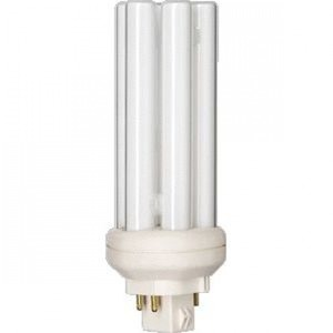 Ampoule éco fluocompacte Philips PL-T 4P GX24q-2 18W 840