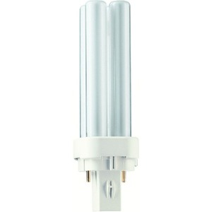 Lampe fluocompacte PHILIPS PL-C 2P G24d-2 18W 840 code 62093470