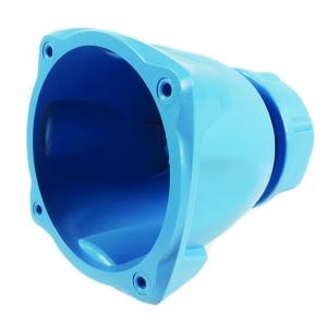 Poignée droite Marechal pour DS6 Poly bleu + presse etoupe 13-35mm