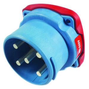 Connecteur Male Marechal DS6 Ploy bleu IP66/67 3P+N+T 90A 440V AC