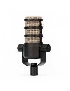 Microphone RODE PodMic dynamique cardioïde pour studio - radio - podcast