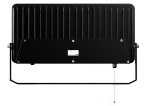 Projecteur led beneito et Faure sky Polaris 200W 26000 lumen IP65 noir Blanc neutre 4000K