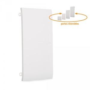 Porte blanche pour coffret 3 rangées 13 modules Ohmtec