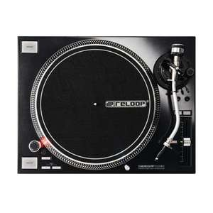 Platine vinyle Reloop RP7000 MK2 black entrainement direct