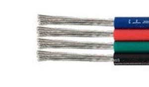 Fil de câblage 4 couleurs pour ruban de led RGB prix au mètre