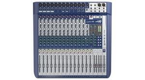 Soundcraft Signature 16 table de mixage analogique USB 16 voies EQ 3 bandes 4 aux