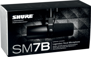 Micro dynamique large capsule cardio  Shure - SSX SM7B