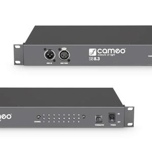 Splitter Cameo 1 entrée 8 sorties DMX XLR 3 broches