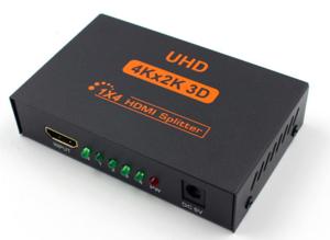Splitter HDMI 4K r&partiteur 1 entrée vers 4 sories HDMI 1.4