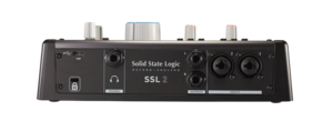 Interface audio 2 entrees / 2 sorties Solid State Logic SSL2