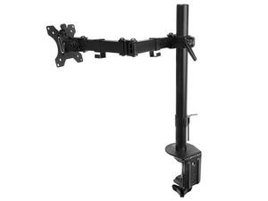 Support d'écran LCD orientable avec pince table Max 8kg