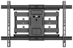 Support écran mural de 37 à 70 pouces orientable double