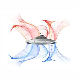 Suspension led industrielle Beneito et faure UFO 150W 4K 19500 lumens 110°