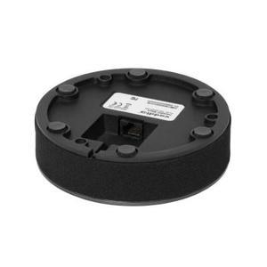 Microphone de table noir Vaddio pour système Huddle shot connectique RJ45
