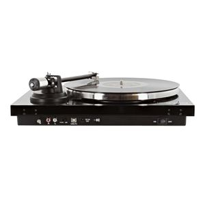 ENOVA Vision4 USB BL platine vinyle noire cellule audio technica et bluetooth