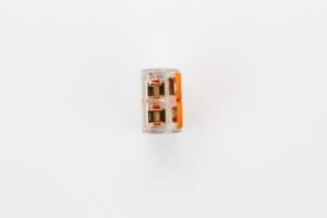 Connecteur Wago à levier 2X 0.2mm2 à 4mm2 nouveau modèle