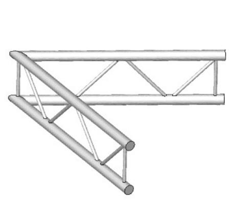 Angle Vertical de structure échelle ASD AEX21V, 60°