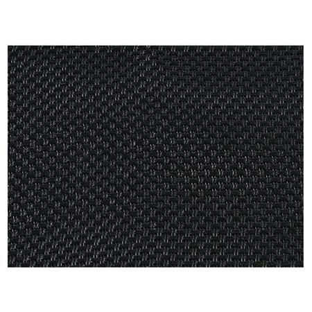 Tissu Acoustique noir pour face avant enceinte largeur 145cm vendu au mètre