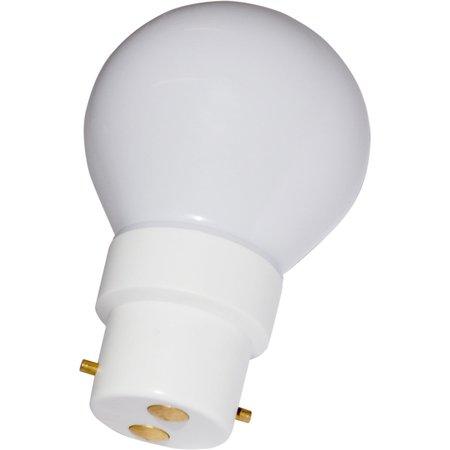Ampoule sphérique B22 230V LED 0,5W BLANC FROID