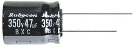 Condensateur 100µF 160Vcc électrolytique radial traversant