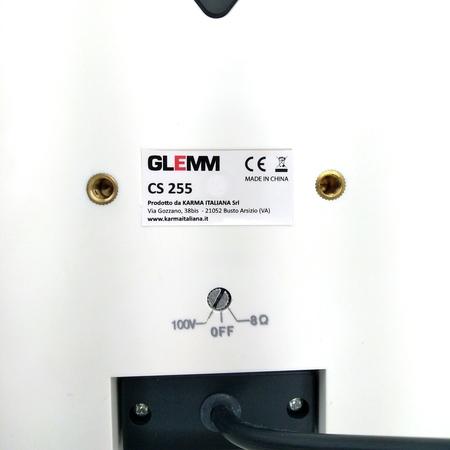 Enceinte public adress 100v ou 8 Ohms GLEMM 5'' 15w RMS IP65