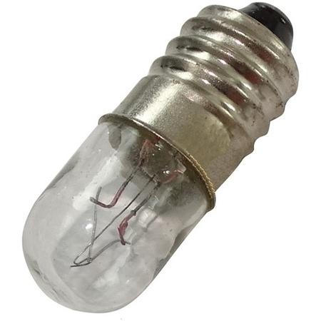 Ampoule E10 6V 50mA 0.3W 10X28mm