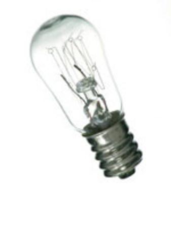 Lampe E14 230V 15W Tube 22X48 Claire pour four 300°
