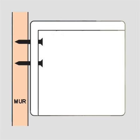 Ecran motorisé image 2m40 X 1m50 16/10ème