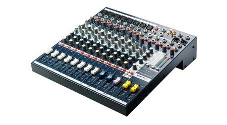 Console de Mixage Analogique SoundCraft - EFX8 - 8 MONO / 2 STEREO - EFFETS LEXICON