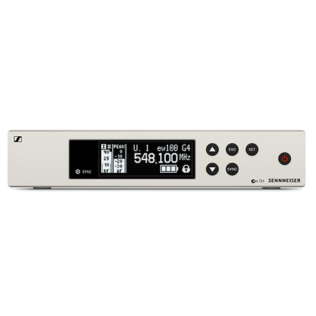 Récepteur Sennheiser EM100 G4 bande A  516 - 558 Mhz