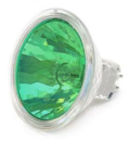 LAMPE EXN 12V 50W GU5.3 38° verte