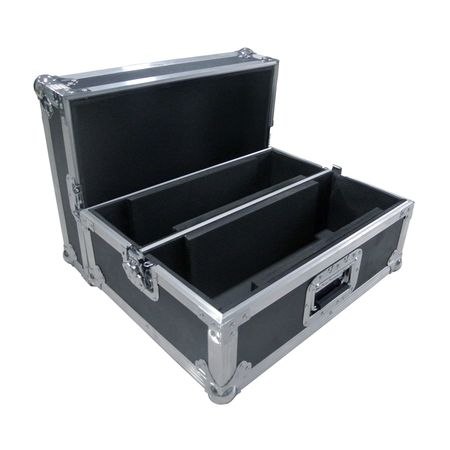 Flight case 2 compartiments pour scanner ou autre 518 X 270 X 398