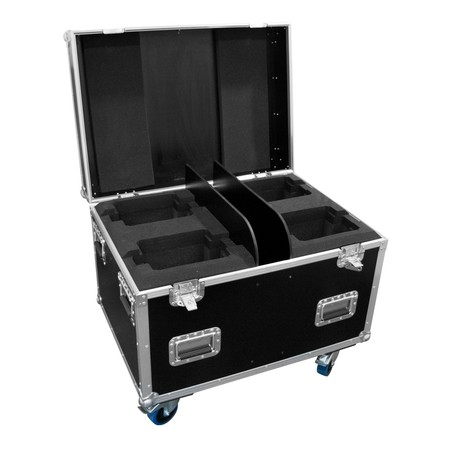 Flight case pour 4 lyres ADJ Focus 4Z ou Beam