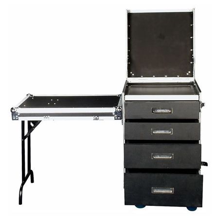Rack 4 tiroirs 12U avec couvercle table