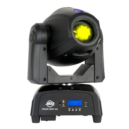 Lyre Led ADJ Focus spot 2X 100W double prisme