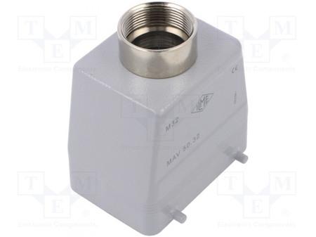 Capot droit pour connecteurs type HAN32 2X16 broches