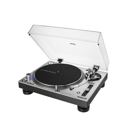 Platine vinyle Audio technica AT-LP140XP pro à entrainement direct silver
