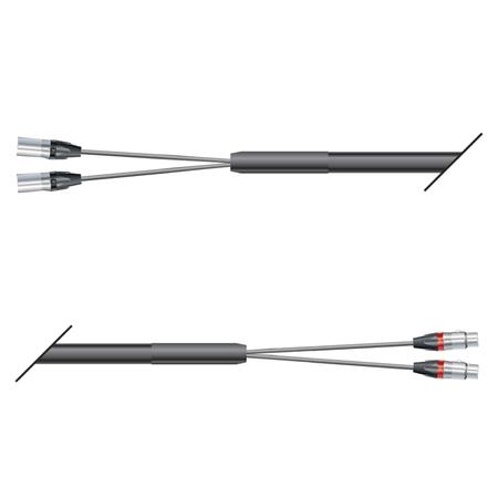 Multipaires souple 2 XLR Neutrik 10m Sommer cable